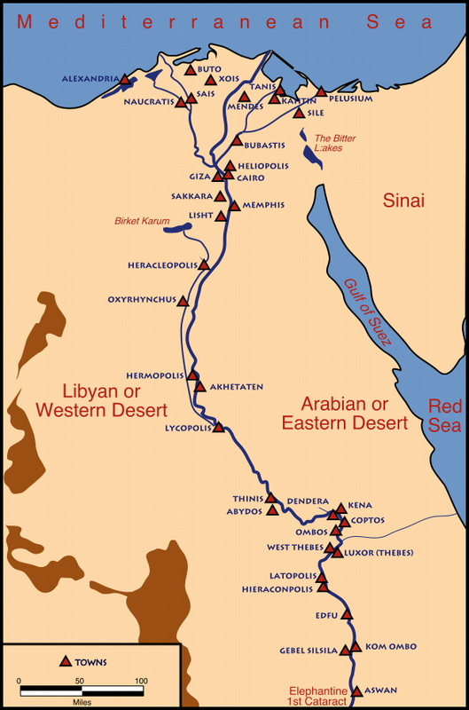Week  The Geography Of The Nile